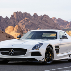 Nico Rosberg will drive an SLS AMG Black Series