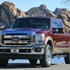 Ford F-Series Super Duty 156-in. WB King Ranch Styleside Crew Cab 4x2