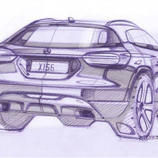 Mercedes also released sketches for the car