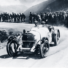 Caracciola in a Mercedes-Benz SSK in another race