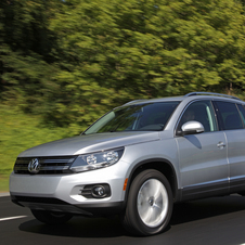 Volkswagen currently sells two SUVs in the USA - Tiguan and Touareg.