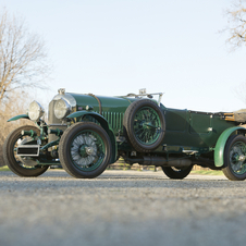 Bentley 4½-Litre Open Tourer by Vanden Plas