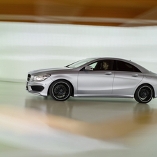 The CLA uses transverse engines and front wheel drive