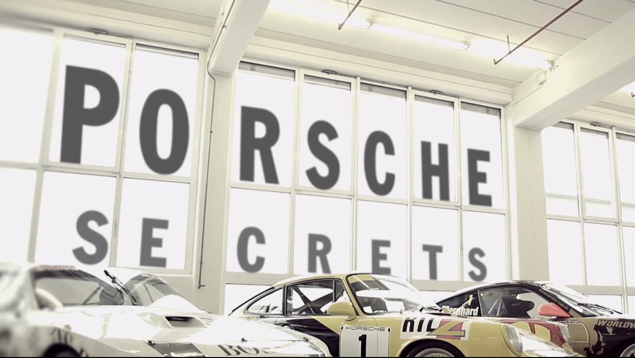 Porsche warehouse is where some of the weirdest cars are kept
