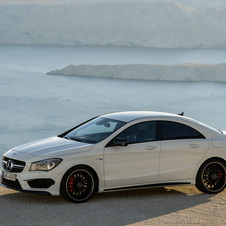 The CLA was voted the best looking car in Germany by Autobild magazine