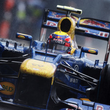 Webber hunted down Alonso for nearly the entire race to take the win