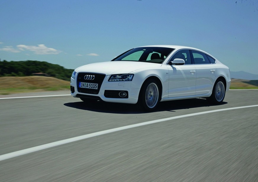 Audi A5 Sportback 2.0 TDI multitronic :: 2 photos and 65 specs ...