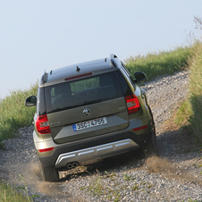 Skoda Yeti Outdoor 1.4 TSI 4x4 Ambition