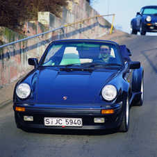 Porsche brought the Turbo back to the US and Japan in 1986