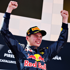 Verstappen won his first ever F1 race on his first run for Red Bull