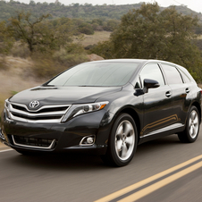 Toyota Venza Gets New Bumper and More Standard Features for 2013