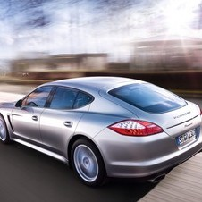 The car will be based on the second generation Panamera