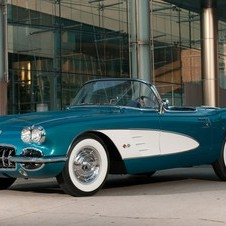 Akerson's 1958 Corvette has been restored