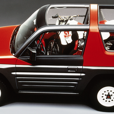 The original RAV-FOUR was shown as a concept in 1989