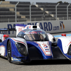Toyota slightly reworked the aerodynamics of the TS030