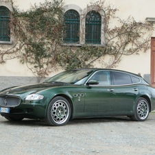 Maserati Quattroporte Touring Bellagio Fastback by Touring Superleggera