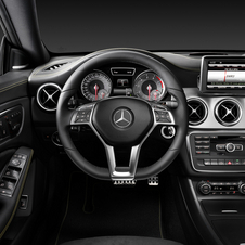 Interior detail from the CLA