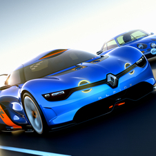 To look like the Alpine A110, the car has LED, circular fog lights