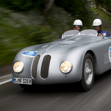 It built special versions for the Mille Miglia, and it won a class victory and an overall victory
