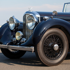 Bentley 4½-Litre Drophead Coupe by H.J. Mulliner