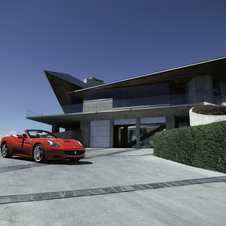 Ferrari has photographed the California in iconic locations in California