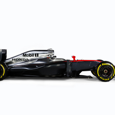 The MP4-30 is the only car that will compete with the Honda RA615H Hybrid engine in 2015