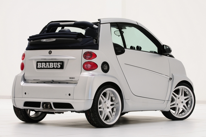 Brabus Smart Fortwo Cabrio Brabus Ultimate 112 Photo