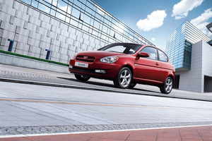 Hyundai Accent Blue GS