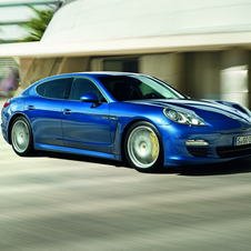 The Panamera actually had lower sales