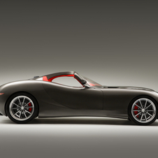 From the side, it bears a slight resemblance to a TVR