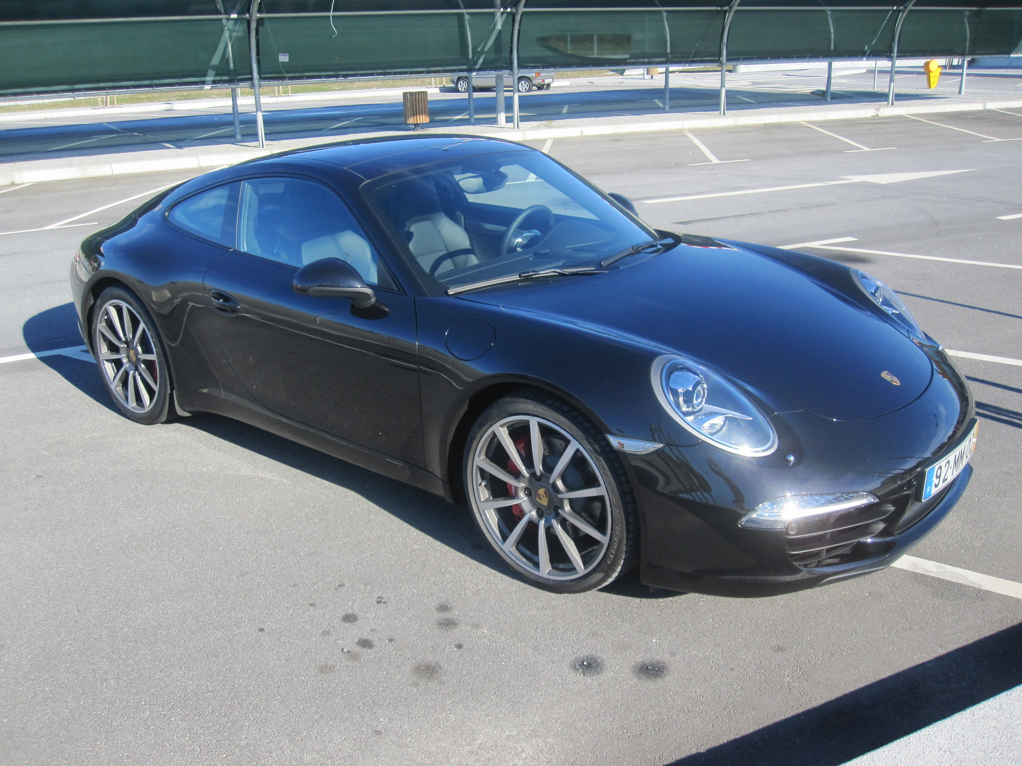 New Porsche 911 (991) Carrera S test drive