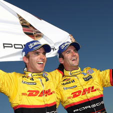 Dumas and Bernhard won the ALMS Championship in 2007 and 2008