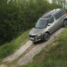 Skoda Yeti Outdoor 2.0 TDI CR DSG Ambition