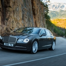 The four-door Continental is already covered by the Flying Spur, which means the four-door coupe could have wilder styling