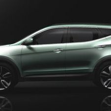 Next Hyundai Santa Fe Exterior Revealed on Twitter