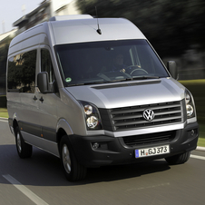 Volkswagen Crafter 35 2.5 TDI 136hp Chassis double Cabin Long