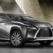 The Lexus NX is based on the RAV4 platform
