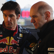 Webber believes that Newey is one of the major forces in the team that pushes it forward