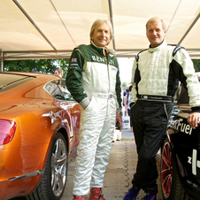 Juha Kankkunen and Derek Bell will be driving the cars up the hill