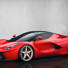The LaFerrari shows that the company is still investing in technology