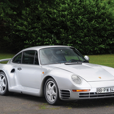 This 959 was the highest selling Porsche at the Pebble Beach auction at $737,000