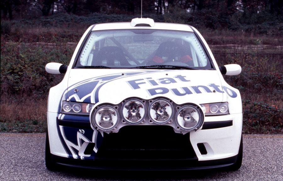 Fiat Punto Abarth Rally Large