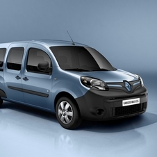 The latest Kangoo has a more vertical and modern face
