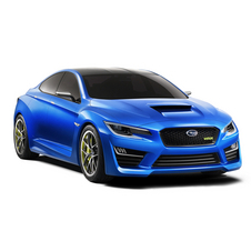 The WRX concept shows a pretty radical body change for the car