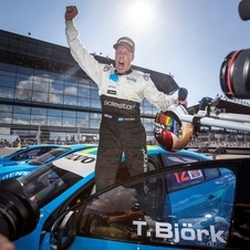 STCC Champion Thed Björk will race the car in Shanghai