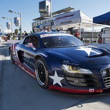 The R8 Grand Am has been racing in the series for two years