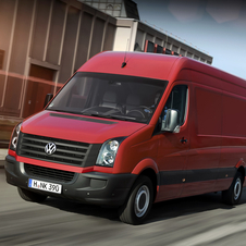Volkswagen Crafter 30 Professional 2.5 TDI 109hp Panel Van medium T.B.