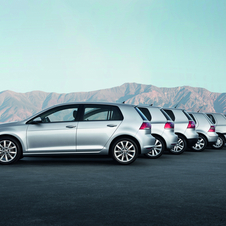 VW says that the C-Pillar defines the Golf