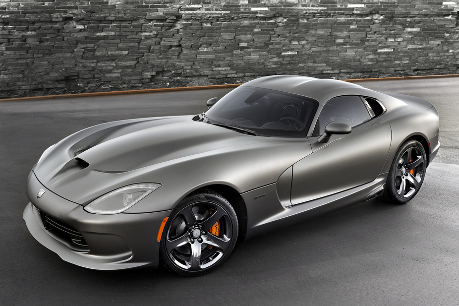 The Srt Viper Anodized Carbon Edition Gets Special Matte