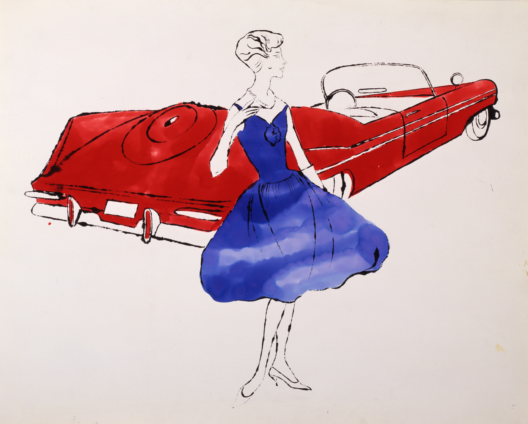 Andy warhol fashion illustration 23
